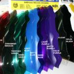 labelled colours